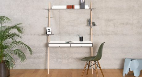 The Compact LEAN ON DESK by PAMU