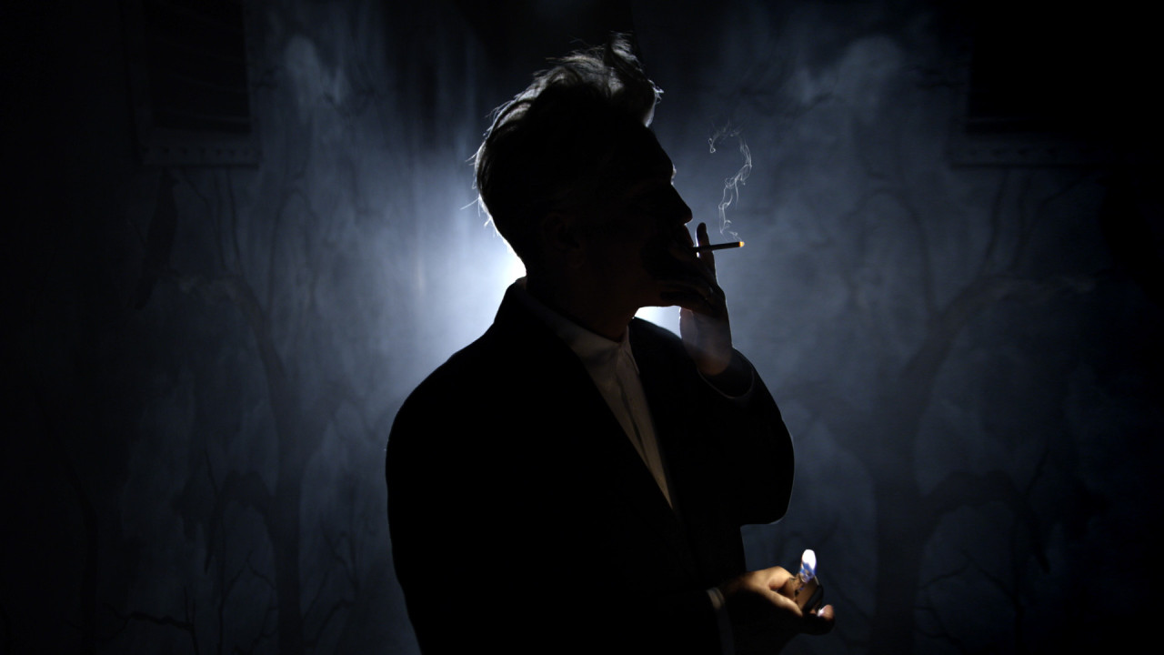John Malkovich as David Lynch = Art Website Magic