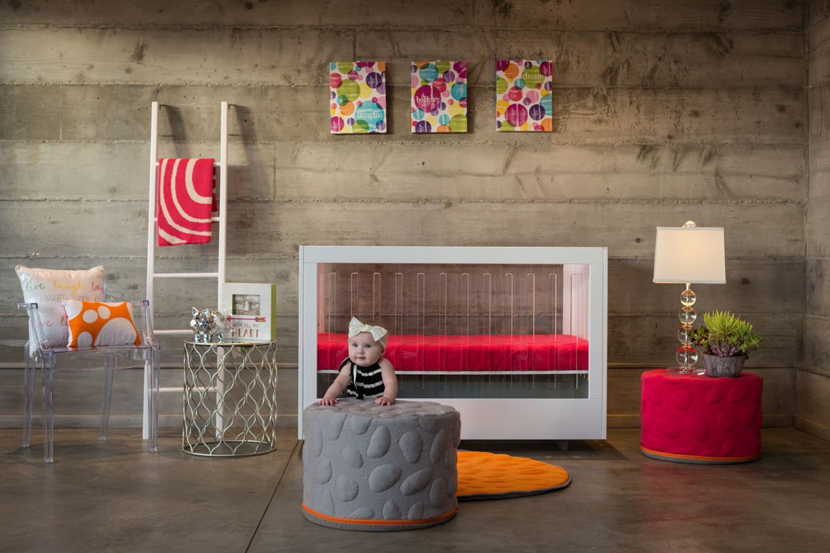 Colorful Seating for the Family from Nook