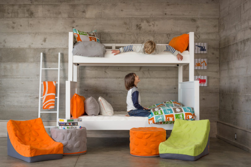 Colorful Seating For The Family From Nook Design Milk Mesmerizing Nook Pouf