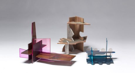 Furniture Made From Puzzle Pieces