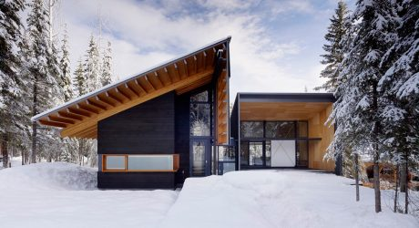 10 Wintry Modern Cabins We'd Be Happy To Hole up In