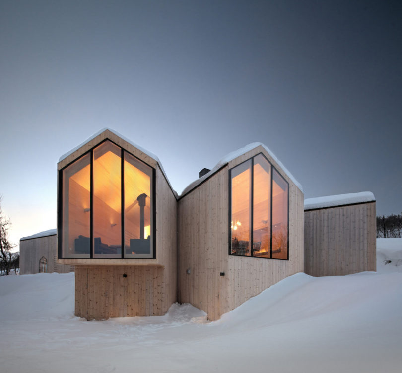 10 Modern Wintry Cabins We D Be Happy To Hole Up In Blogs De Architecture