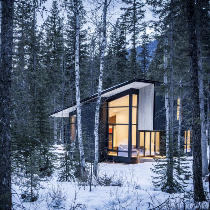 10 Modern Wintry Cabins We 39 D Be Happy To Hole Up In