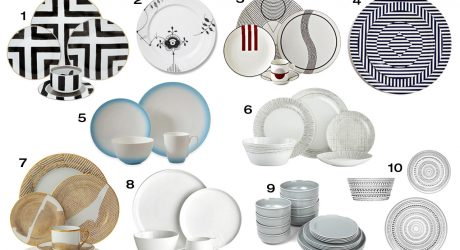 10 Modern Fine China and Dinnerware Options