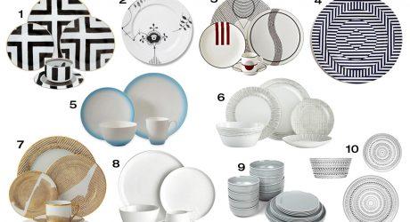 10 Modern Fine China and Dinnerware Options
