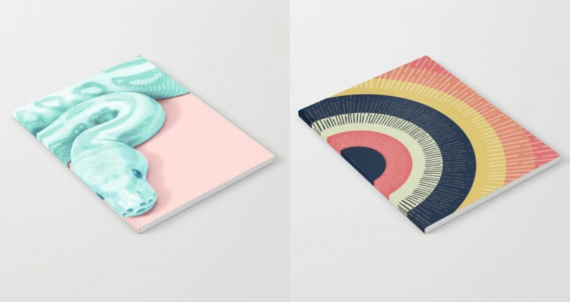 Society6 Launches Notebooks and We Want Them All!