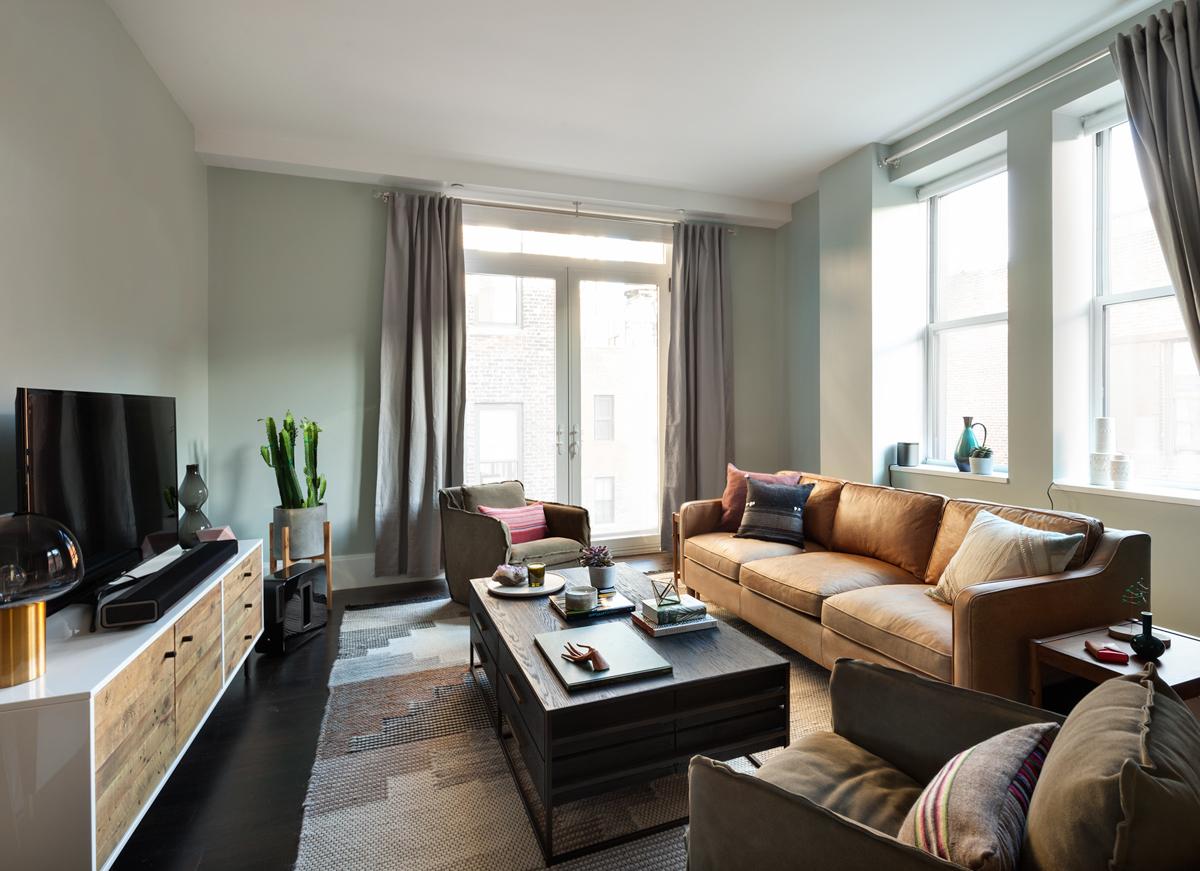 West Elm Living Room 3 Brands Team Up To Design A Nyc Home Design Milk