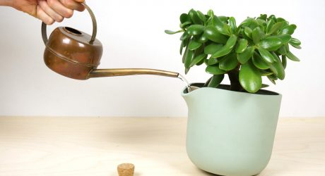 Studio Lorier's Self-Watering Flowerpot