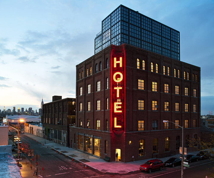 Travel guide nyc what to see and do design milk for Design hotel williamsburg
