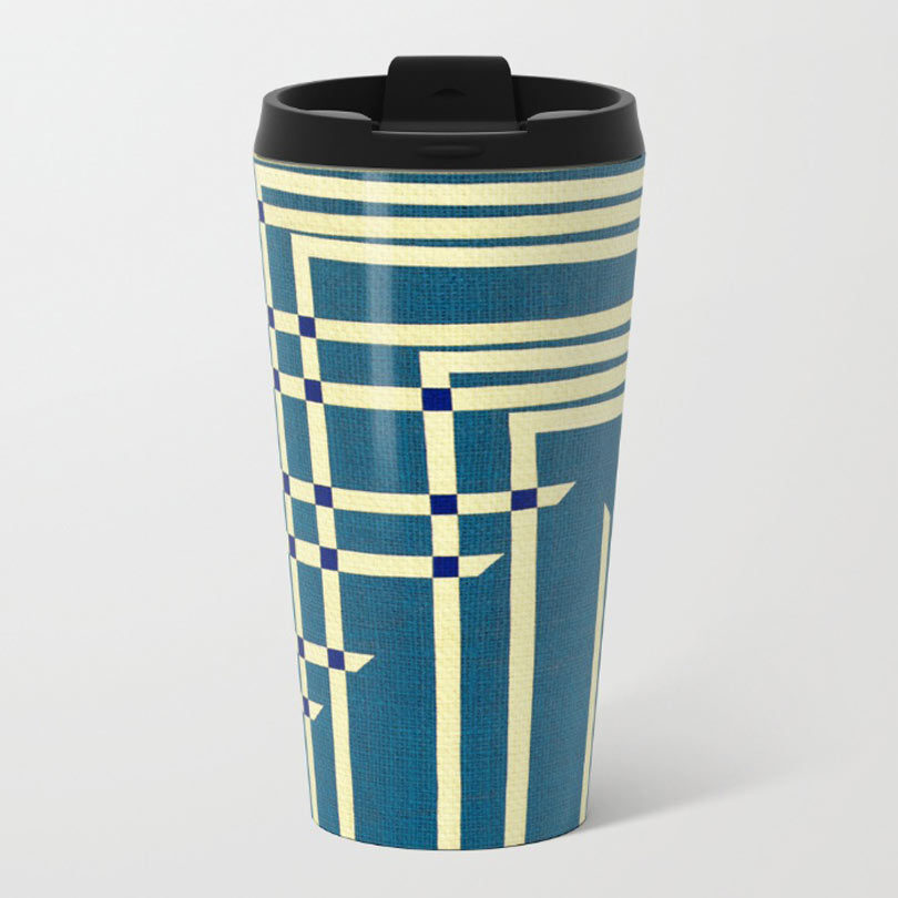 Fresh From The Dairy Metal Travel Mugs Design Milk