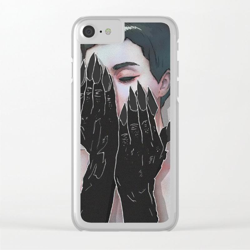 demon-hands-clear-case