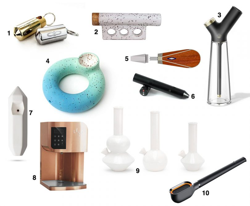 10 Designer Cannabis Accessories to Help You Get Lit