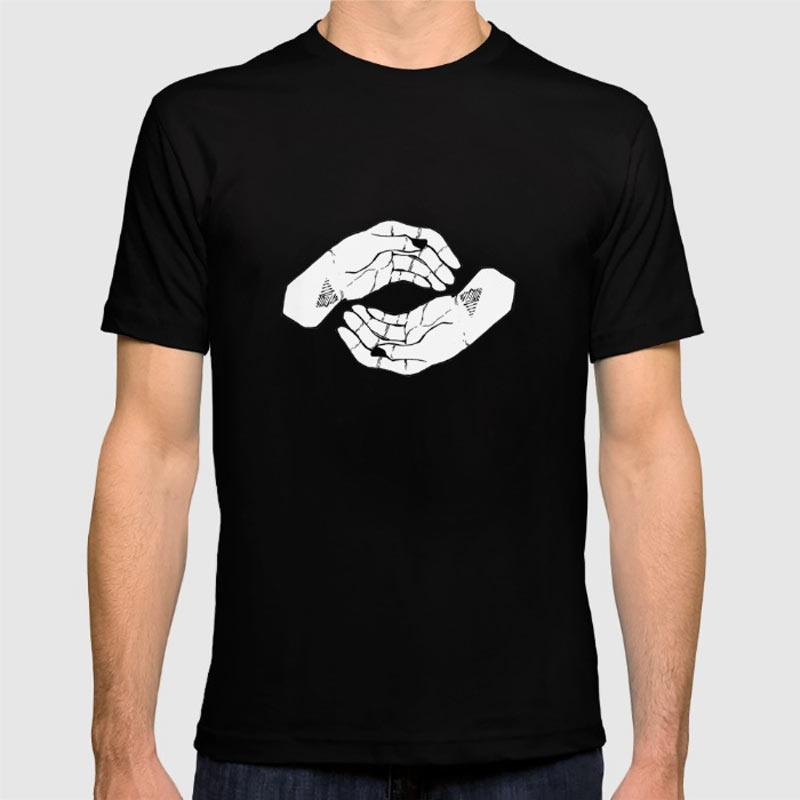 hands-tshirt