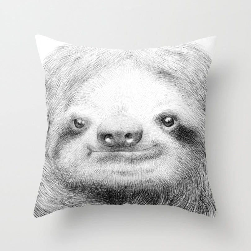 sloth-pillow