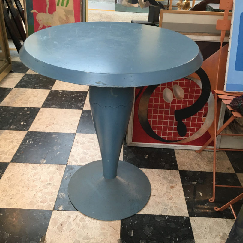 Vintage Philippe Starck table used for a restaurant project of his in the 80's -  Found at Paul Bert Serpette