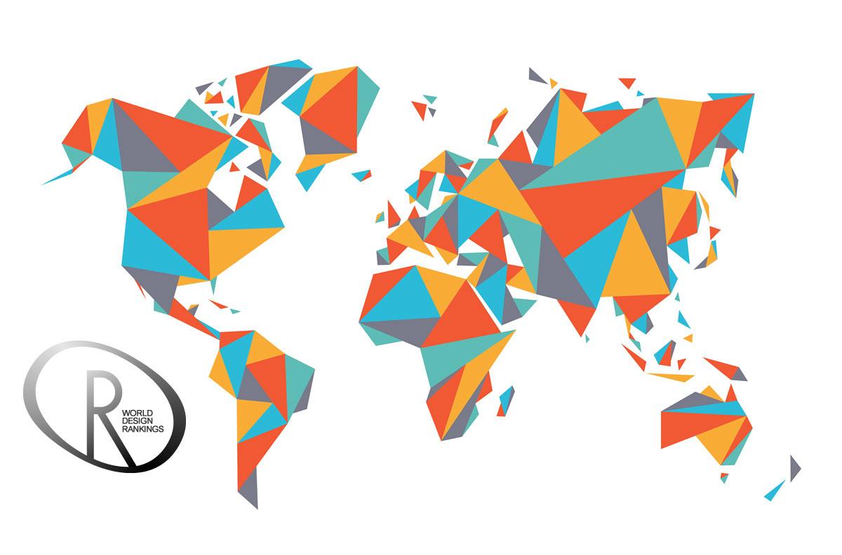 2016 World Rankings from A' Design Award