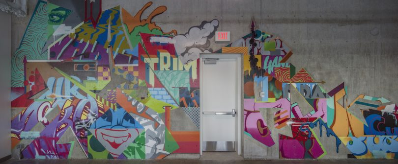 A Mural That Represents Spontaneous Creativity and Collaboration