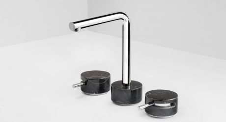 MARMO Faucet Collection Celebrates Marble