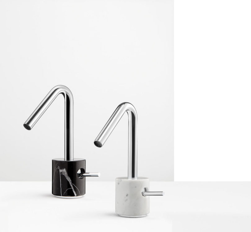 MARMO Faucet Collection Celebrates Marble - Design Milk