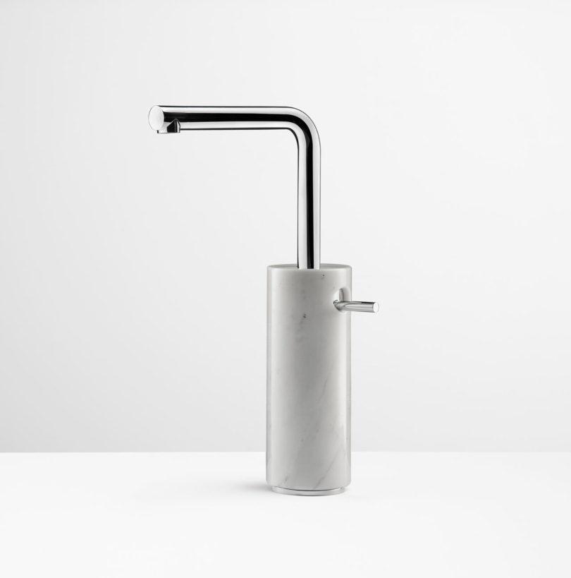 MARMO Faucet Collection Celebrates Marble - Design Milk