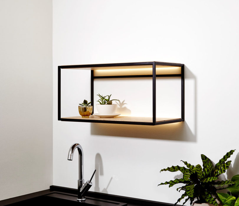 Wall Hanging Shelves Design picchio square wall mounted shelf design Photo By Valerie Wilcox