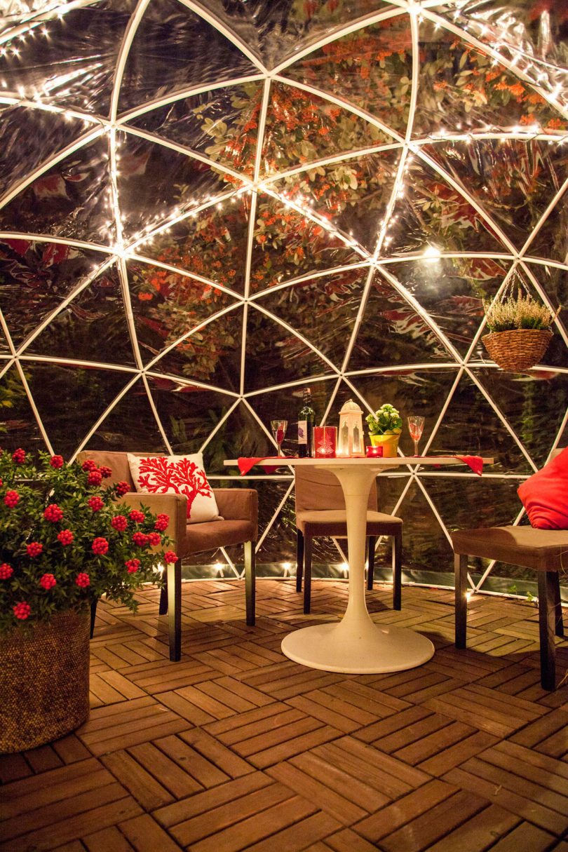 Garden Igloo 360 year-round weatherproof igloos for your garden - design milk