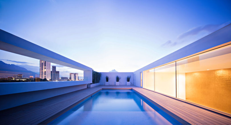 Domus Aurea: A Modern, Mexican Residence with Mountain Views