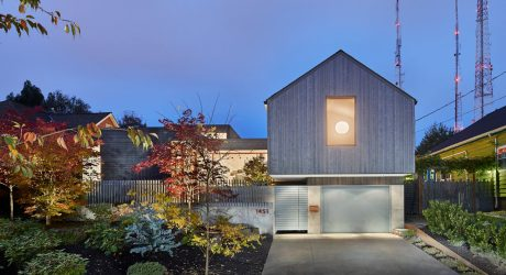 A Modern Seattle Home with an Art Studio