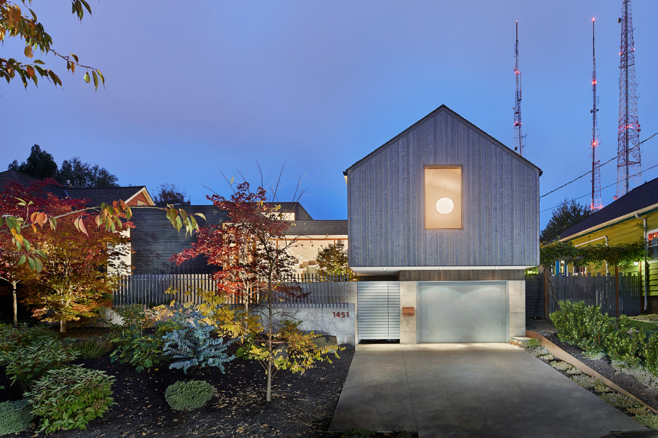 A Modern Seattle Home With An Art Studio ...