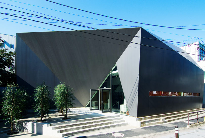 hhstyle showroom in Harajyuku, Tokyo – designed by Tadao Ando. Photo: Wiiii/CC BY-SA 3.0