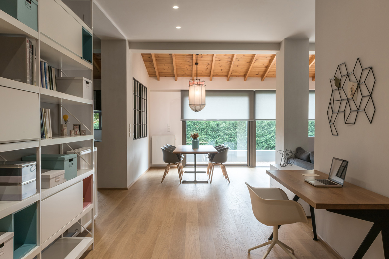 A Scandinavian-Inspired Apartment in Trikala, Greece