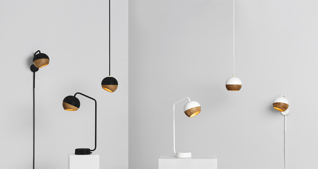 Low Energy Lighting with Adjustable Wooden Shades
