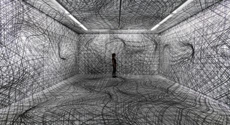 The Visually Warped Rooms of Peter Kogler