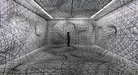 The Visually Warped Rooms of Peter Kogler