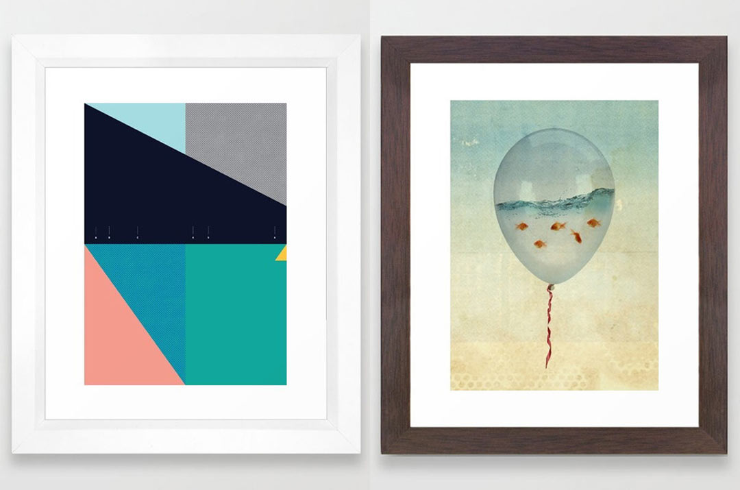 Framed art prints from society6 design milk for Where to buy framed art