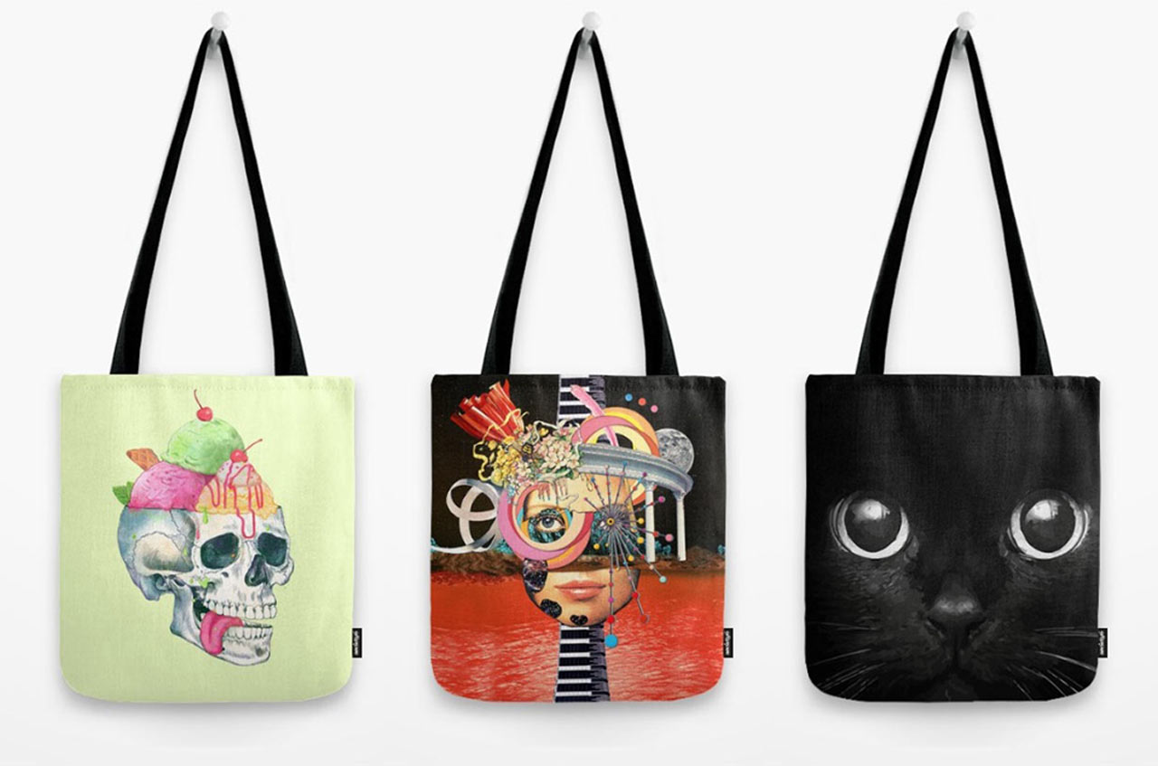 8 artist designed tote bags great for gifting design milk 8 artist designed tote bags great for gifting maxwellsz