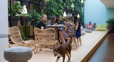 Barcelona-Based Startup Gets Unconventional Digs
