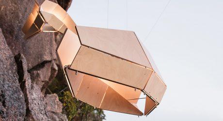 Woodlabo Recreates the Lunar Landing in LED