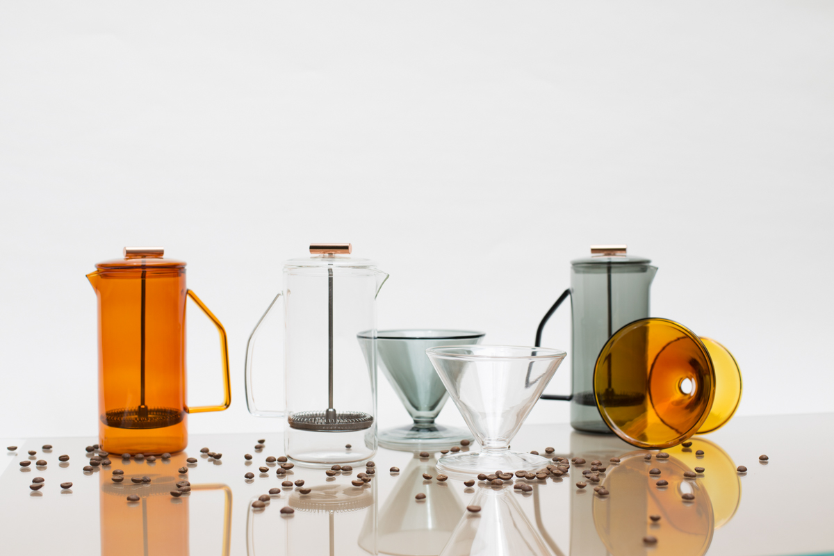 Glass Coffee Accessories From YIELD - Design Milk