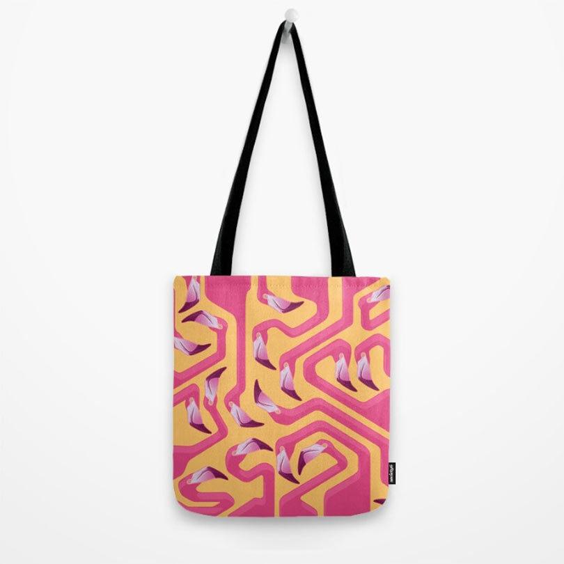 flamingo-maze-bag