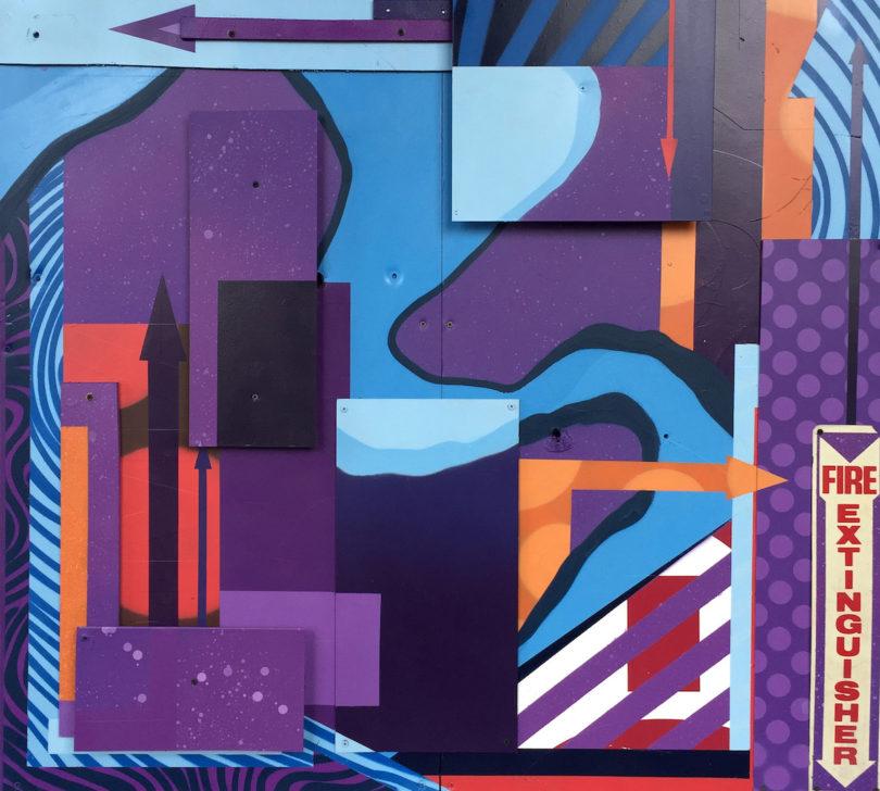 """""""Untitled"""" Nick Mamayek (enamel/acrylic/latex)"""