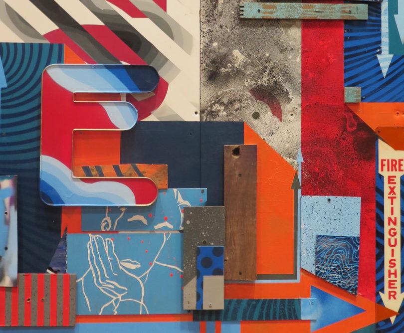 """""""Untitled"""" Nick Mamayek/Wes Winship (enamel/acrylic/latex/ink)"""