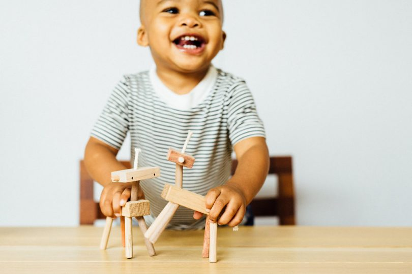 Adorable Wooden Critters from Monroe Workshop Toys