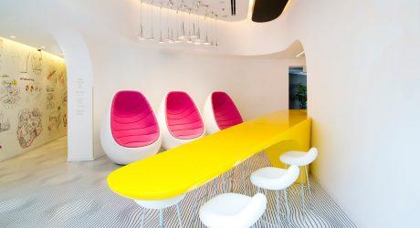 Restored Bauhaus Building Gets the Karim Rashid Treatment in Tel Aviv