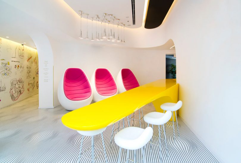 Restored Bauhaus Building Gets the Karim Rashid Treatment in Tel Aviv