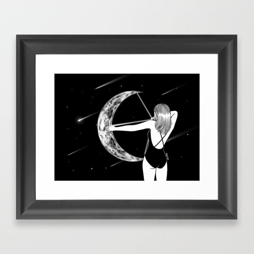 shooting-star-framed-print