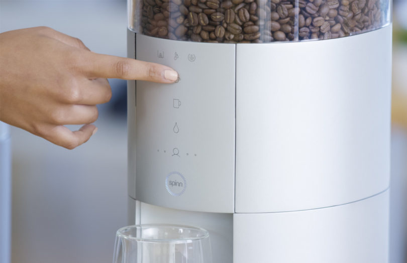 Centrifugal Coffee Maker : Spinn is a centrifugal force wi fi enabled coffee maker