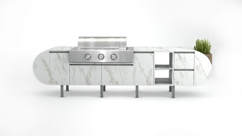 ASA-D2: A Modular, Freestanding Outdoor Kitchen