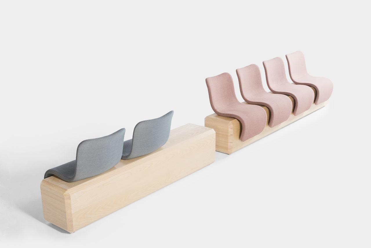 Brad Ascalon Reimagines Seating for Public Spaces